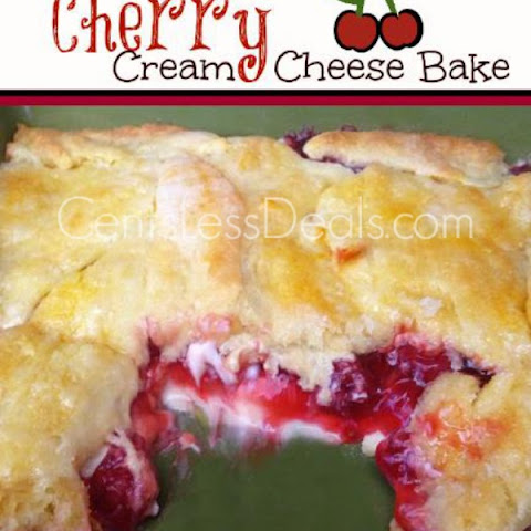 Cherry Cream Cheese Bake