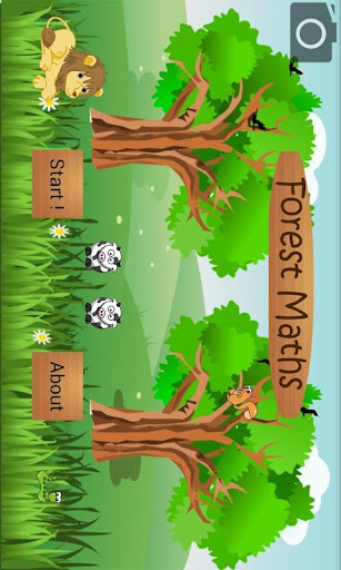 Forest Maths for Kids