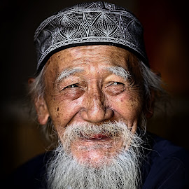 THE OLD MAN by Aad S. Ahmad - People Portraits of Men (  )