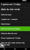 Screenshot of Dieta em Português