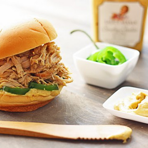 Smoky Garlic Shredded Pork Sliders