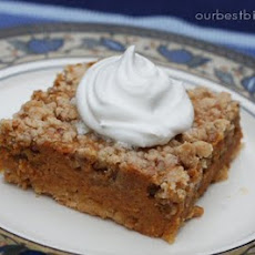 Easy Pumpkin Crumble