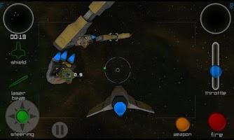 Screenshot of MOGA demo - Galaxy NGC3D HD