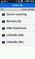 Screenshot of Career & Coaching News