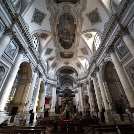 San Sebastiano, Venice by Almas Bavcic - Buildings & Architecture Other Interior