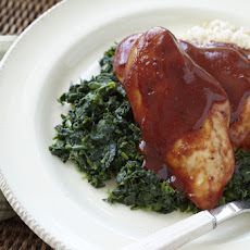 Ranch BBQ Chicken Dinner