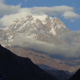 Chulu peak by Karabi Das - Landscapes Mountains & Hills