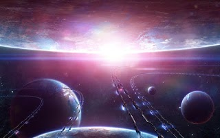 Screenshot of Galaxy 3D Space