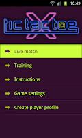 Screenshot of Tic Tac Toe Multiplayer