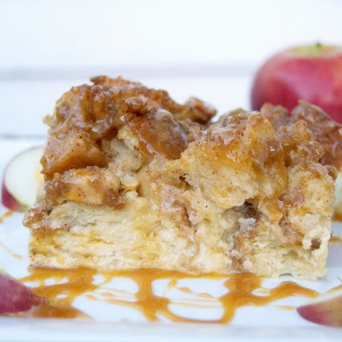Caramel Apple French Toast Bake