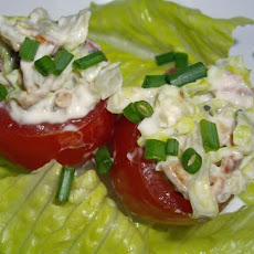 Bacon and Lettuce Stuffed Cherry Tomatoes