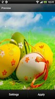 Screenshot of Easter Live Wallpaper
