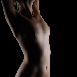 sway by Justin Case - Nudes & Boudoir Artistic Nude ( body, nude, female, low key, woman, sensual )