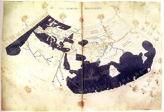 mundo de Ptolomeo según Agathodemon