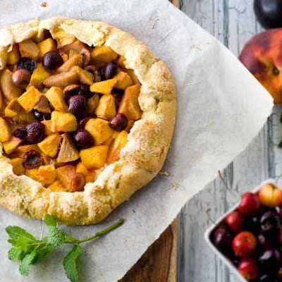 Gluten Free Summer Fruit Galette