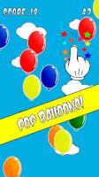 Screenshot of Pop Balloons