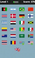 Screenshot of Logo Quiz - National Flags