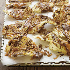 Chocolate-Caramel-Pecan Potato Chips