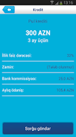 Screenshot of Bank of Baku Mobile