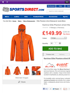 Screenshot of SportsDirect
