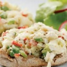 Deviled Crab Salad Sandwiches