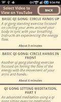Screenshot of Qi Gong Meditation Relaxation