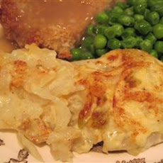 Scalloped Potato-Onion Bake