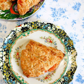 Grapefruit Honey Yogurt Scones