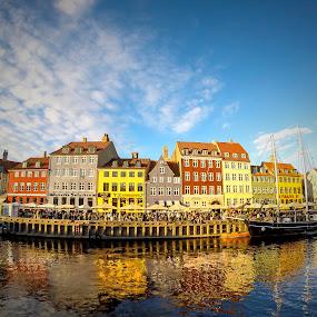 Nyhavn by Eugen Chirita - Landscapes Travel ( danmark, copenhagen, nyhavn )