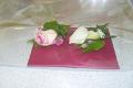 fresh wedding buttonholes