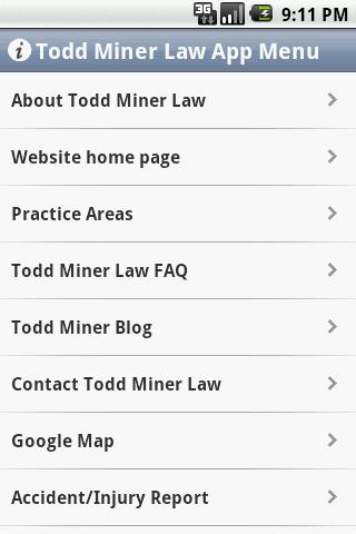 【免費書籍App】Todd Miner Law-APP點子