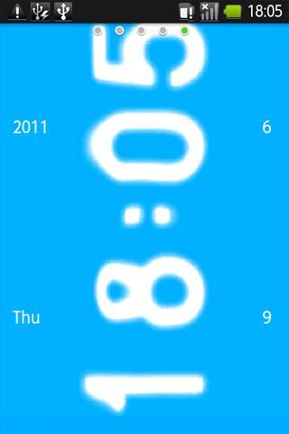 Water Clock ライブ壁紙