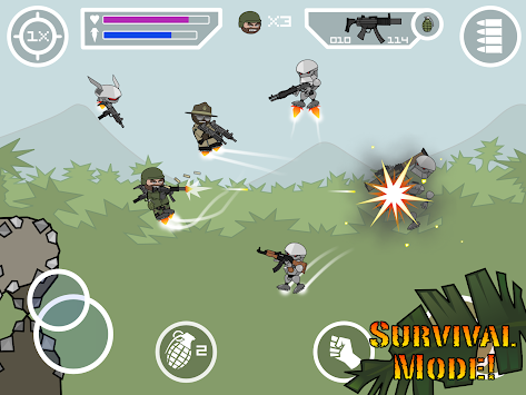 Doodle Army 2 : Mini Militia APK screenshot thumbnail 12