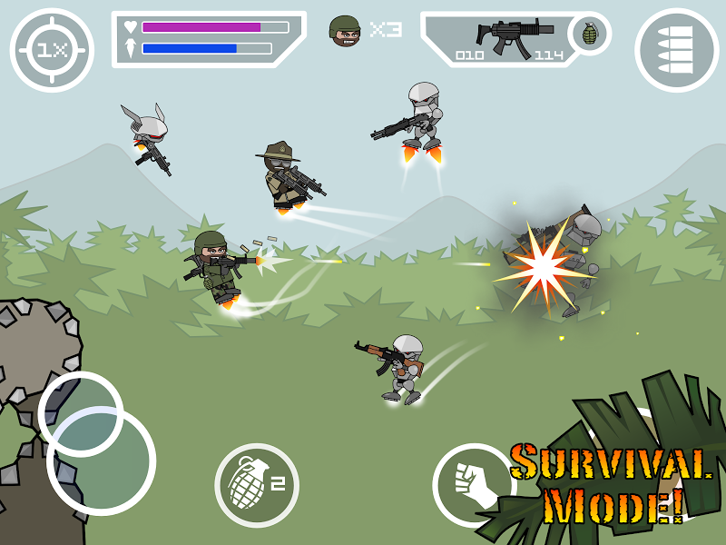 Doodle Army 2 : Mini Militia Screenshot 11