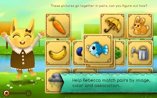 Screenshot of Becca's Matching Game (Demo)