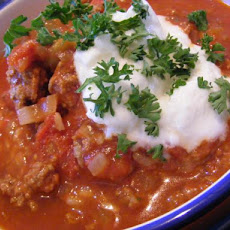 Chilli Con Carne (21 Day Wonder Diet : Day 2 )