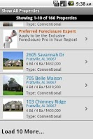 Screenshot of USHUD.com Property Search