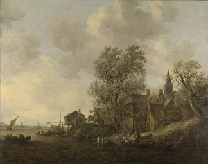 RIJKS: Jan van Goyen: painting 1645
