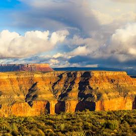 grand Canyon by Vaibhav Jain - Landscapes Mountains & Hills ( las vegas, mountain, sunset, las vega, valley, deepriver, deep, grand canyon )