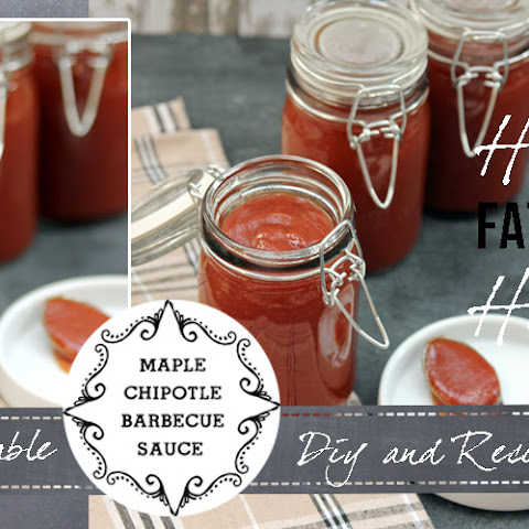 Maple Chipotle Barbecue Sauce