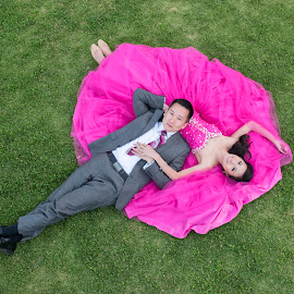 Love is when the other person's happiness is more important than your own. by Yansen Setiawan - Wedding Other ( creative, art, losangeles, illusion, love, yansensetiawanphotography, fineart, prewedding, d800, wedding, lifestyle, la, photographer, yansensetiawan, nikon, yansen, pink dress, engagement )
