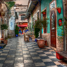 Ioannina by Stratos Lales - City,  Street & Park  Markets & Shops ( market, cafe, traditional, colours, city )