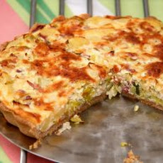 Pancetta and Cilantro Quiche Recipe