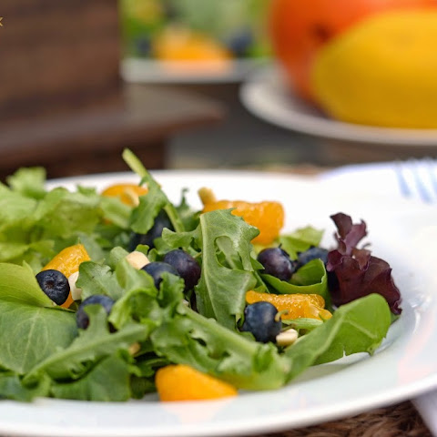 Mandarin Orange & Blueberry Salad