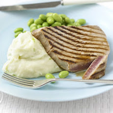 Soy Tuna With Wasabi Mash