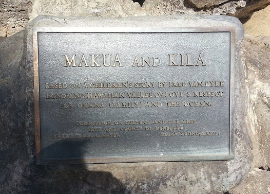 MAKUA AND KILA  BASED ON A CHILDREN'S STORY BY FRED VAN DYKE HONORING HAWAIIAN VALUES OF LOVE & RESPECT  FOR OHANA (FAMILY) AND THE OCEAN