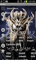 Screenshot of Skyrim Dragon Shouts Ringtone
