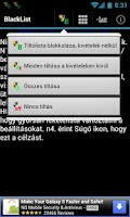Screenshot of Feketelistára (Blacklist)