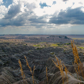 The Badlands by Tyrell Heaton - Landscapes Deserts ( the badlands, south dakota )