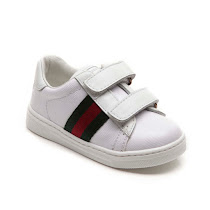 Gucci Classic Toddler Strap Trainer TODDLER TRAINERS